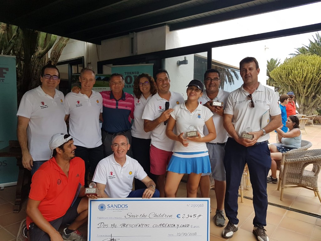 TORNEO SAVE THE CHILDREN SANDOS PAPAGAYO & COSTA TEGUISE GOLF